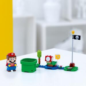 """Das Bild zeigt den Vorbestellerbonus von Zavvi zum """"Abenteuer mit Mario – Starterset""""."""