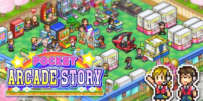 """Das Bild zeigt im Zuge der Neuveröffentlichungen KW 18/20 das Titelbild zu """"Pocket Arcade Story""""."""