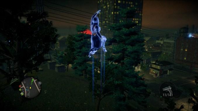 Das Bild zeigt den Spieler, wie er in die Luft springt.