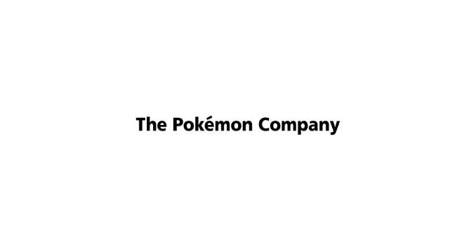 """Das Bild zeigt einen """"The Pokémon Company""""-Schriftzug."""