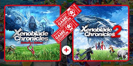"""Das Bild zeigt eine Sparaktion zu """"Xenoblade Chronicles""""."""