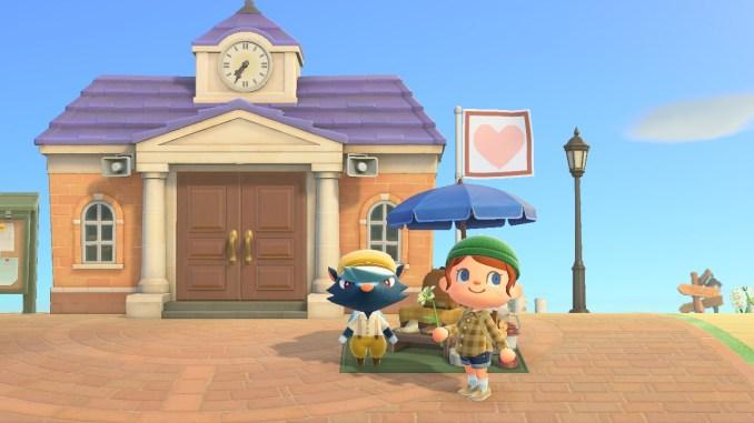 """Das Bild zeigt Schubert in """"Animal Crossing: New Horizons""""."""