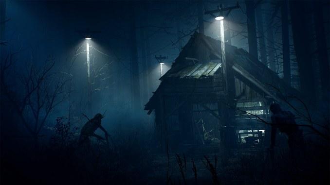 Das Bild zeigt die Schrecken der Nacht.