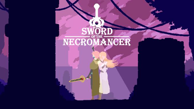 Das Bild zeigt das Logo zu Sword of the Necromancer