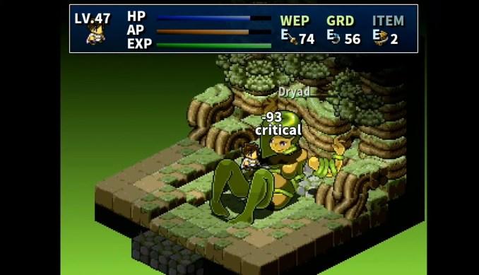 """Das Bild zeigt einen Kampf in """"Hakoniwa Explorer Plus""""."""