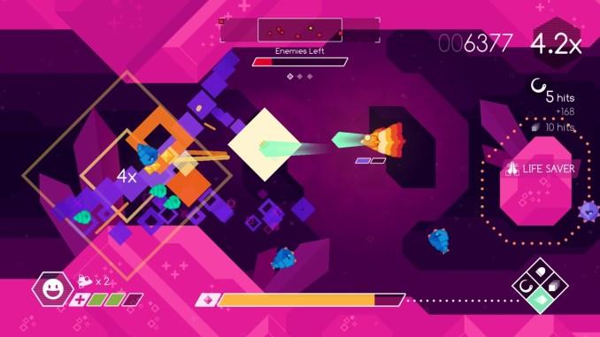 """Das Bild zeigt ein Level aus dem Spiel """"Graceful Explosion Machine""""."""