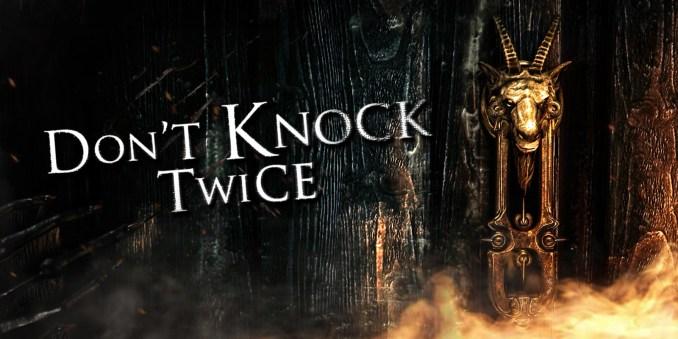 """Das Bild zeigt das Titelbild zu """"Don´t Knock Twice""""."""