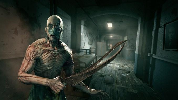 """Das Bild zeigt einen Charakter aus dem Horrorspiel """"Outlast""""."""