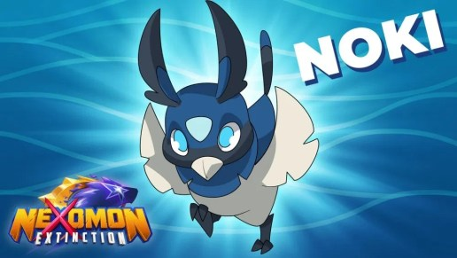 """Das Bild zeigt Noki aus """"Nexomon Extinction""""."""