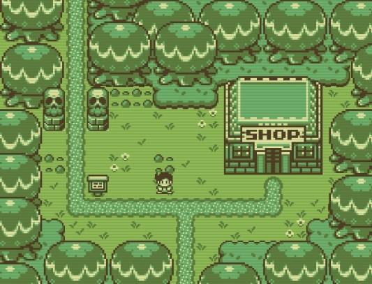 """Das Bild zeigt eine Spielszene aus """"Timothy and the Mysterious Forest""""."""