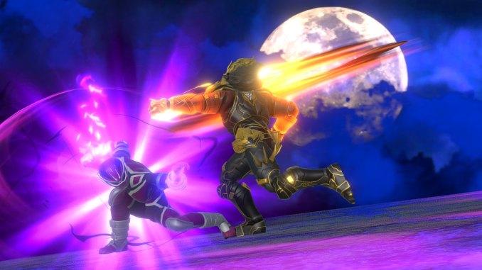 """Das Bild zeigt eine Szene aus dem Spiel """"Power Rangers: Battle for the Grid"""". Ein neuer DLC hat den Charakter Robert """"RJ"""" James hinzugefügt."""