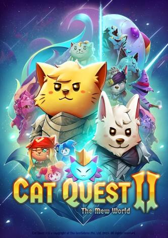 """Dieses Bild zeigt das kostenlose Update für """"Cat Quest II""""."""