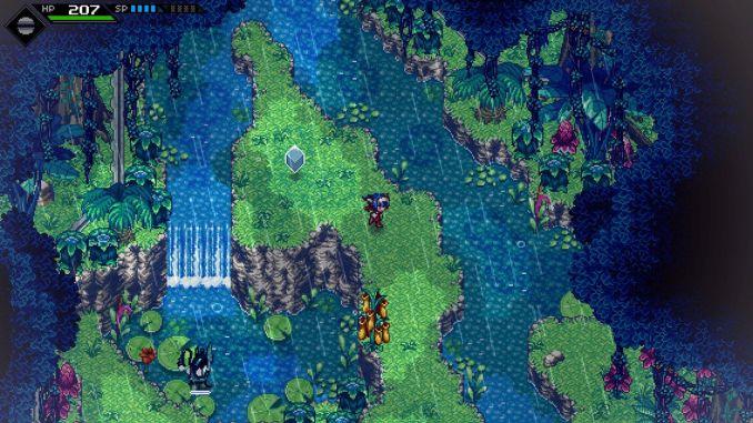 """Das Bild zeigt eine Szene aus dem Spiel """"CrossCode"""". Es handelt sich um eine Spieleidee für Jung und Alt."""