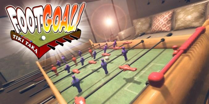 Das Bild zeigt das aktuelle Coverbild von Footgoal!Quelle: Nintendo