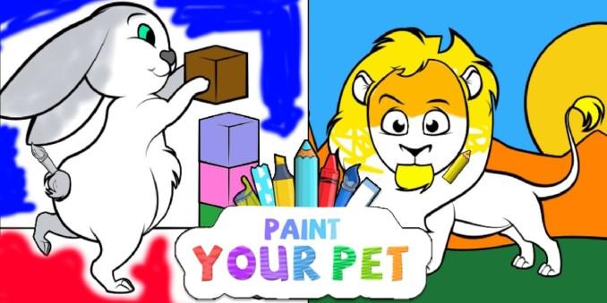 "Das Bild zeigt das aktuelle Cover von ""Paint Your Pet"".Quelle: Nintendo"