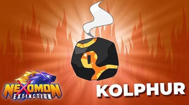 """Das Bild zeigt Kolphor, ein Nexomon aus dem Spiel """"Nexomon: Extinction""""."""
