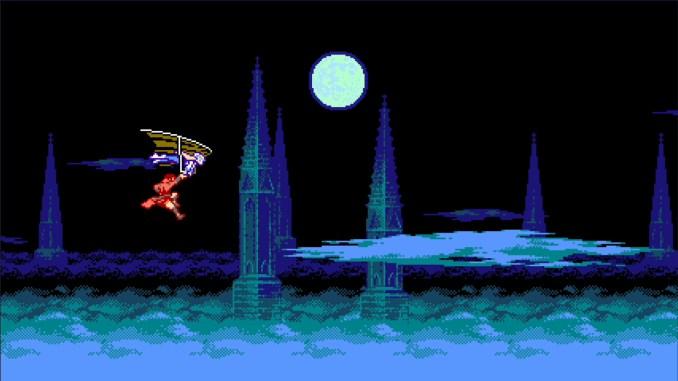 """Das Bild zeigt eine Szene aus dem Spiel """"Bloodstained: Cruse of the Moon 2""""."""