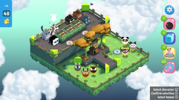 """Das Bild zeigt ein Level aus dem Spiel """"Cubicity""""."""