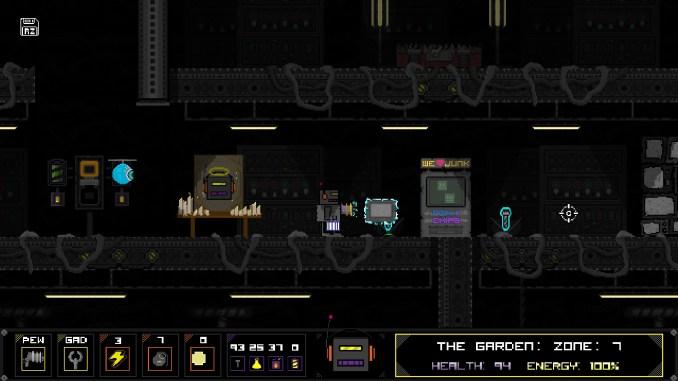 """Das Bild zeigt eine Szene aus dem Spiel """"Robozarro""""."""