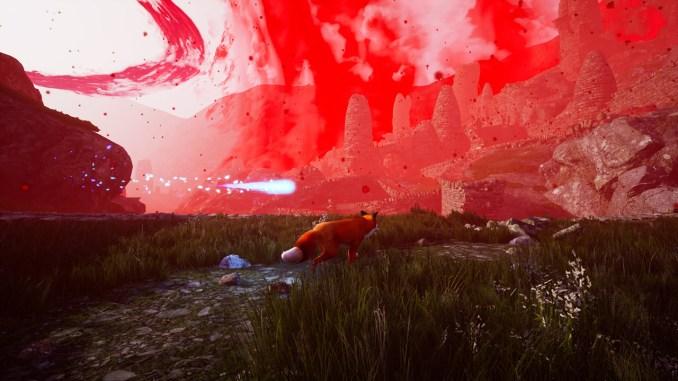 """Das Bild zeigt eine Szene aus dem Spiel """"Spirit of the North""""."""