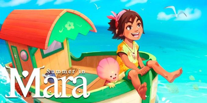 """Das Bild zeigt das Logo von """"Summer in Mara"""", eine der Spieleideen für Jung und Alt."""