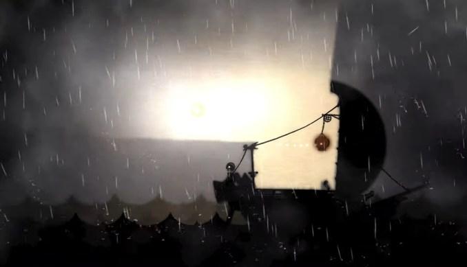 """Das Bild zeigt den kontrastreichen Grafikstil von """"Projection: First Light""""."""