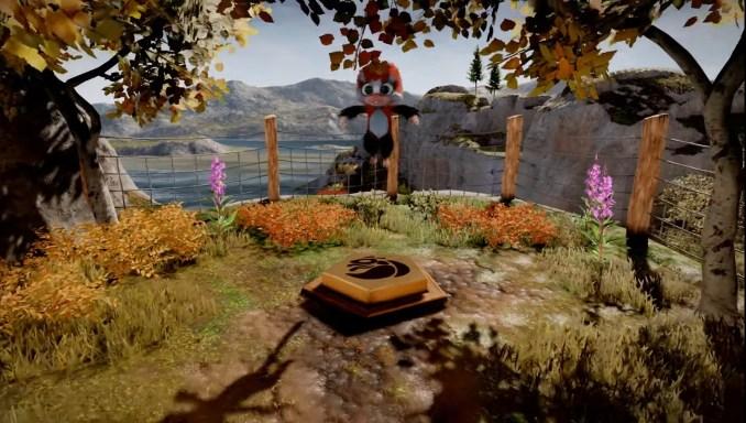 Das Bild zeigt den springenden Tamarin.