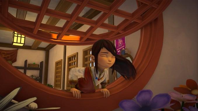 """Das Bild zeigt eine der ersten Szenen aus dem Spiel """"Ary and the Secret of Seasons""""."""