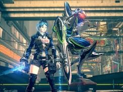 """Das Bild zeigt ein Artwork zu dem Spiel """"Astral Chain""""."""