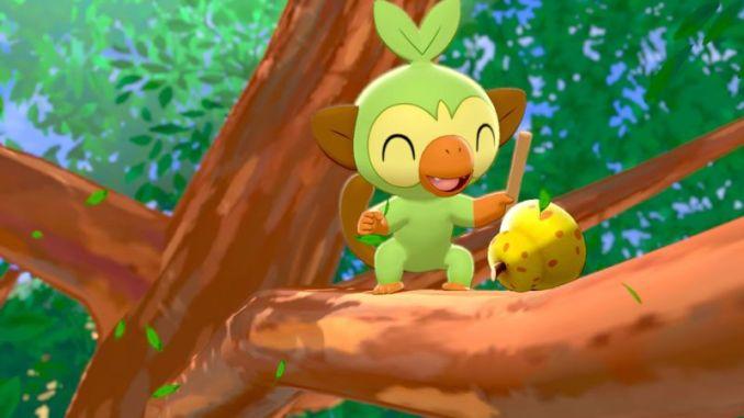 """Das Bild zeigt Chimpep, welcher zwei Wochen lang als Ehrengast bei """"Pokémon Café Mix"""" auftritt."""