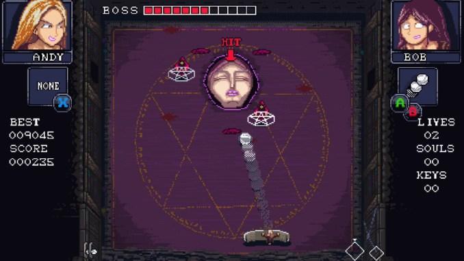 """Das Bild zeigt eine Szene aus dem Spiel """"Death's Hangover """"."""