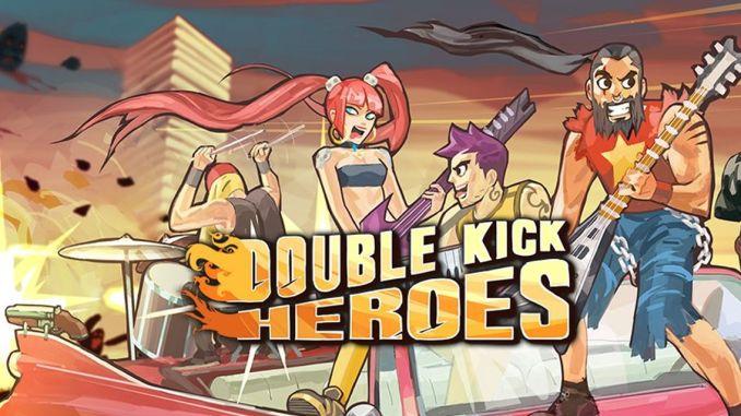 Das ist das Titelbild zu Double Kick Heroes