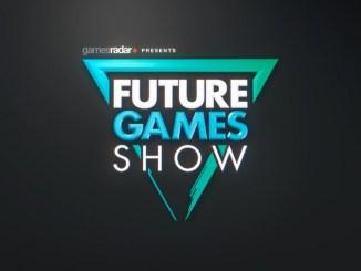 Das Bild zeigt den Titel der Future Games Show