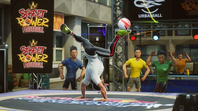 Dieses Bild zeigt einen Auszug vom Freestyle Spielmodi aus Street Power Football