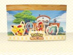 Das Bild zeigt das fertige Pokémon Café Mix Diorama