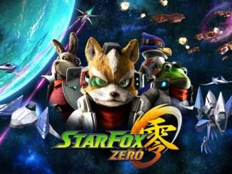 Das Bild zeigt den Titel von Star Fox Zero