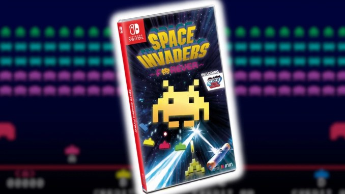 """""""Space Invaders Forever""""Titelbild"""