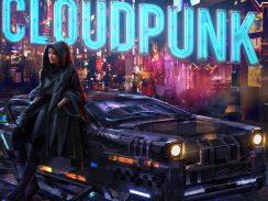 """Das Bild zeigt das Logo des Spieles """"Cloudpunk""""."""