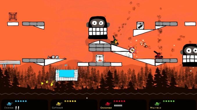 """Das Bild zeigt eine Szene aus dem Spiel """"Doodle Derby""""."""