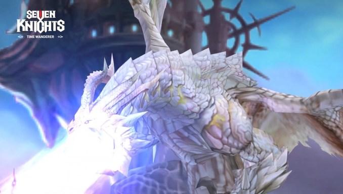 Dieses Bild zeigt einen mächtigen Drachen aus Seven Knights