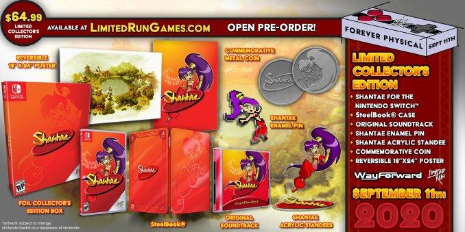 """Das Bild zeigt die Collector's Edition von """"Shantae""""."""
