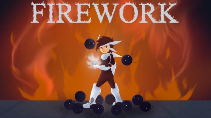 """Das Bild zeigt das Logo des Spieles """"Firework""""."""