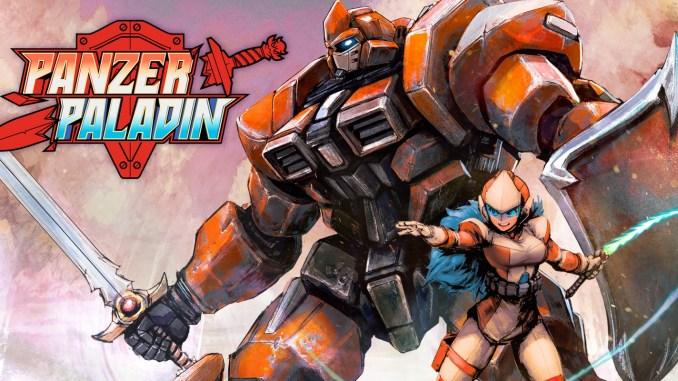 """Das Bild zeigt das Logo des Spieles """"Panzer Paladin""""."""