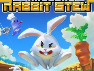 """Das Bild zeigt das Logo von """"Radical Rabbit Stew""""."""