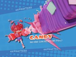"""Das Bild zeigt Candy, einen Charakter aud dem Spiel """"Georifters""""."""