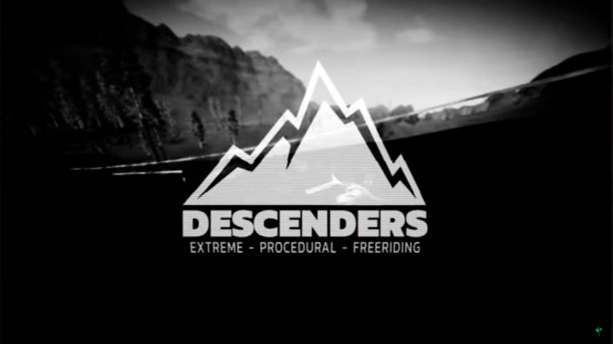 """Dasss Bild zeigt das Logo von """"Descenders""""."""