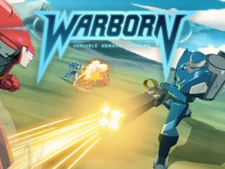"""Das Bild zeit das Logo des Spieles """"Warborn""""."""