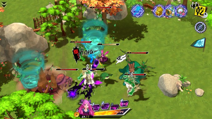 """Das Bild zeigt eine Szene aus dem Spiel """"Zengeon""""."""