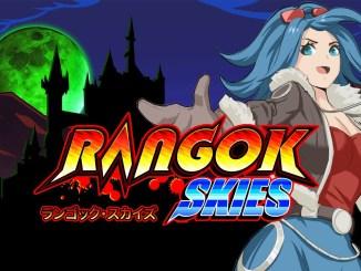 """Das Bild zeigt das Logo von """"Rangok Skies""""."""