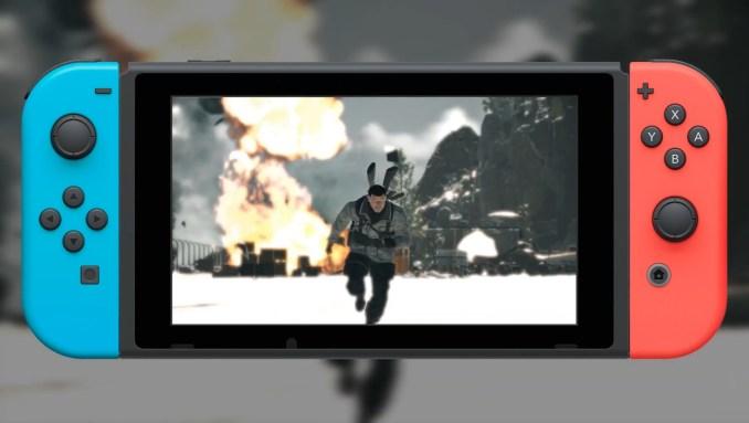 """Das Bild zeigt """"Sniper Elite 4"""" auf der Nintendo Switch."""